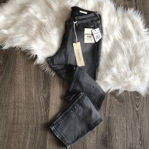 NWT Vintage America boho skinny grey wash jeans 6